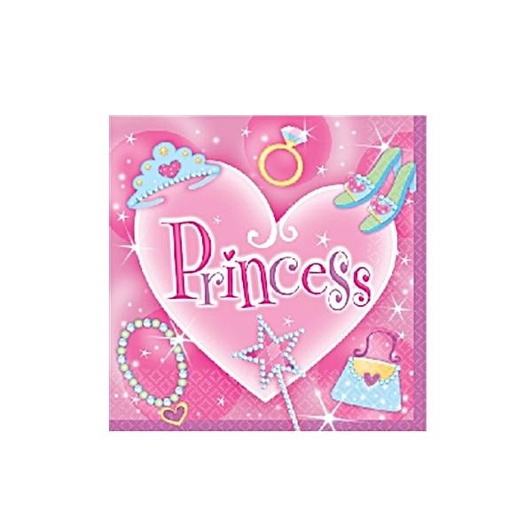 Servietten Princess (Pack mit 16Stk.)