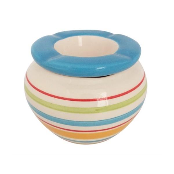 Sturmaschenbecher Stripes D 10cm Keramik