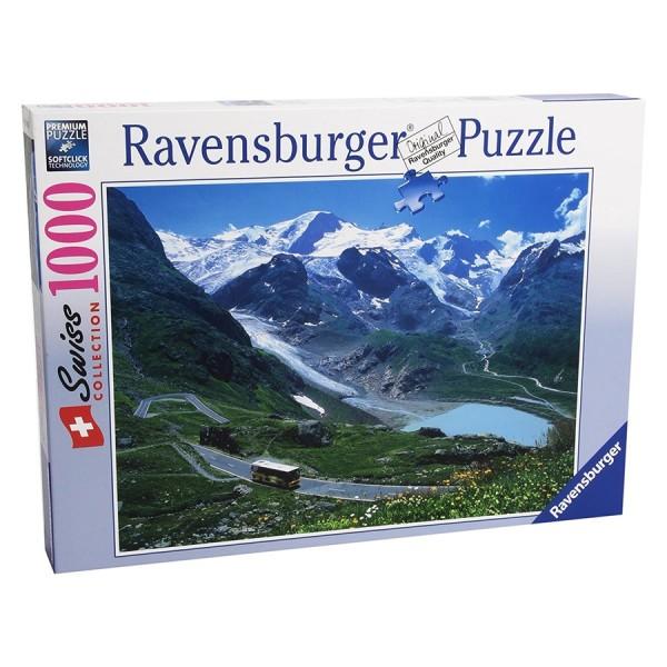 Ravensburger Puzzle, Postauto Sustenpass
