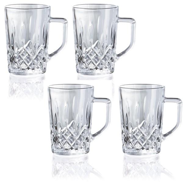 Kaffee Extra Glas HARVEY Set 4 Stk