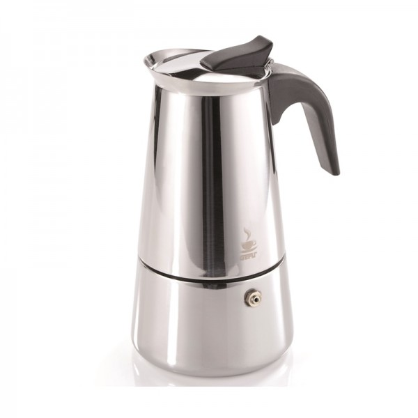 Kaffeekocher Emilio,2 Tassen,Edelstahl