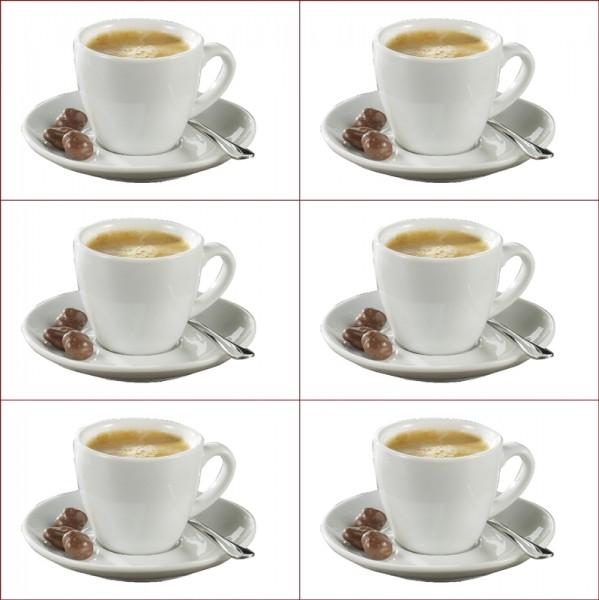Geschirr BISTRO 6Stk. Espressotassen