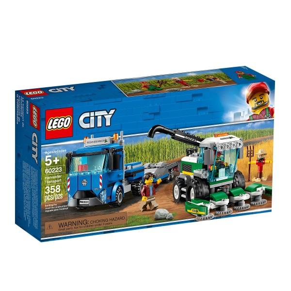 Lego City Transporter und Mähdrescher