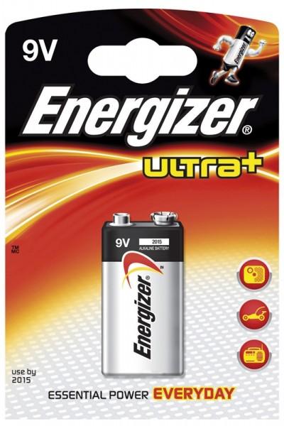 ENERGIZER ULTRA+ Batterien 9V 1Stk.