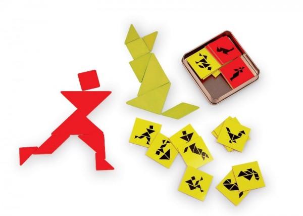 Tangram Spiel für 2