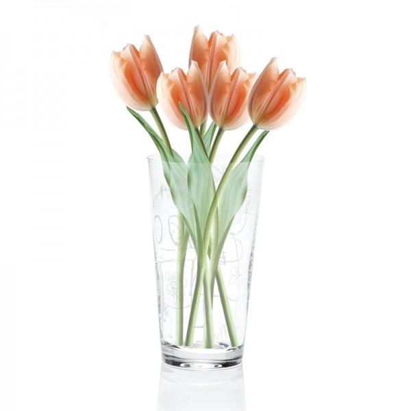 POUL PAVA pure friends Vase, Blumenvase
