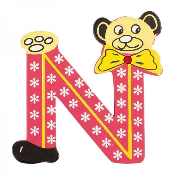 lettre - N - pour lettres d'alphabet ABC