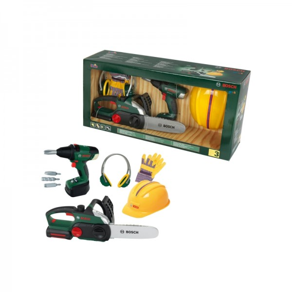 Kinder Bauarbeiter Set Bosch - KLEIN