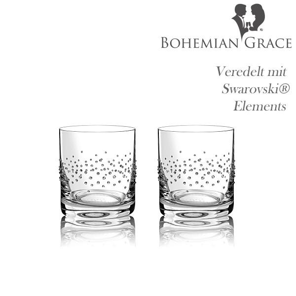 Trinkglas, 2Stk Gläser Bohemian Grace S
