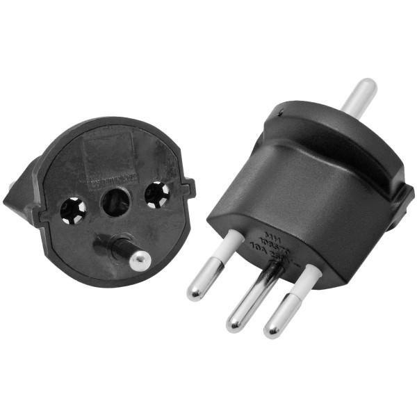Adaptateur fixe T12 / Schuko - 3 poles