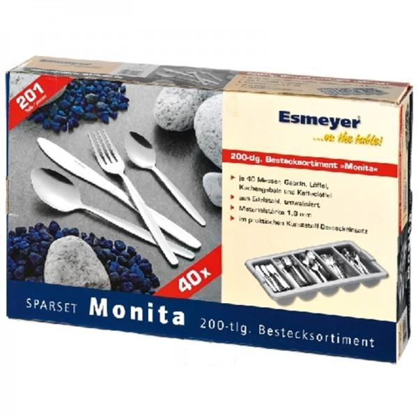 couvert MONITA lot avec 603 pc (120pers)