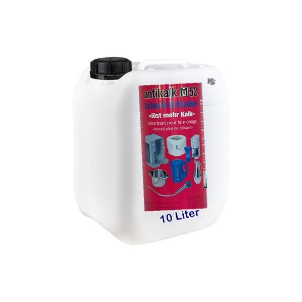 Détartrer ménage M52 Canister 10 litre