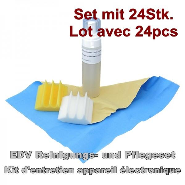 EDV Pflege-, Reinigungs-Set,24Stk.,PC,TV