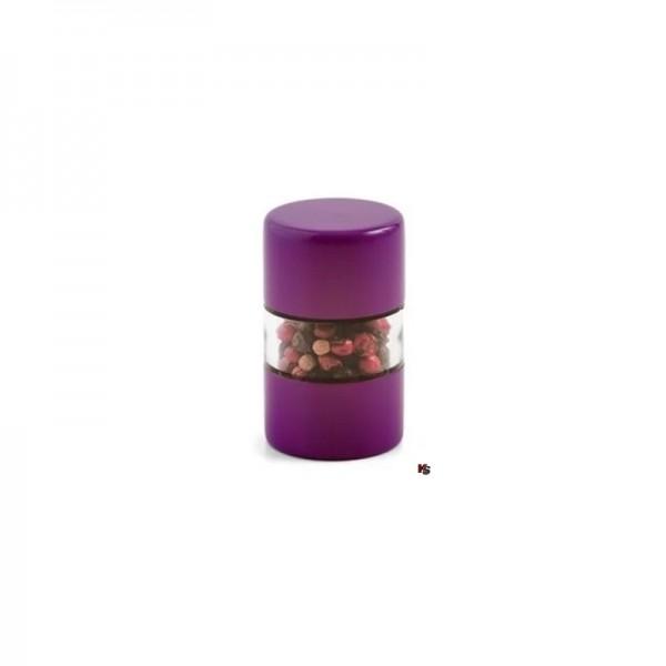 Mini Mühle, Violett, mit Keramikmahlwerk