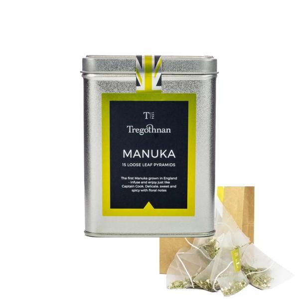 boîte avec 15 sachet de thé de MANUKA