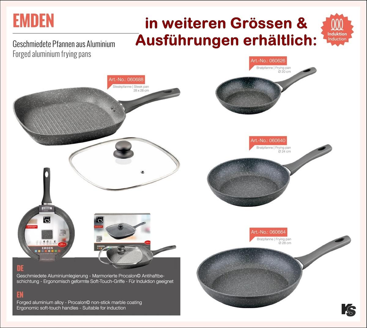 Bratpfanne Cs Kochsysteme 24cm Procalon Beschichtung Kochshop Ch
