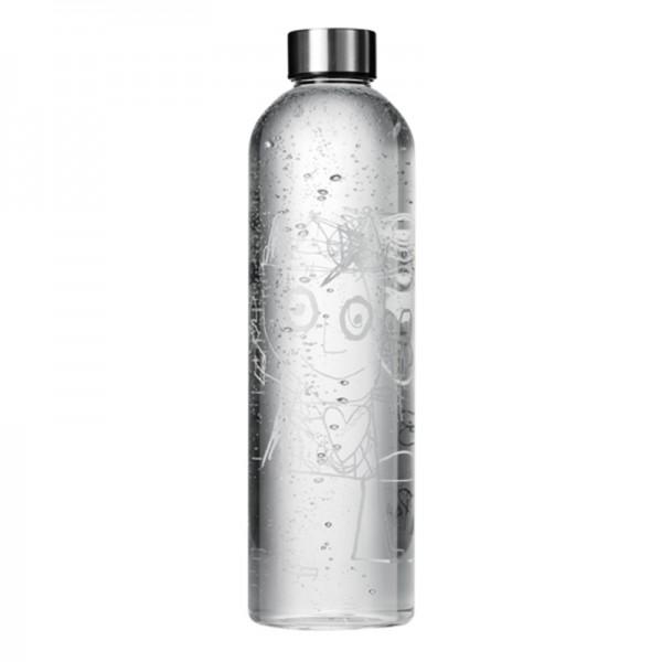 Aida-PP, Bouteille- carafe, en verre 1L