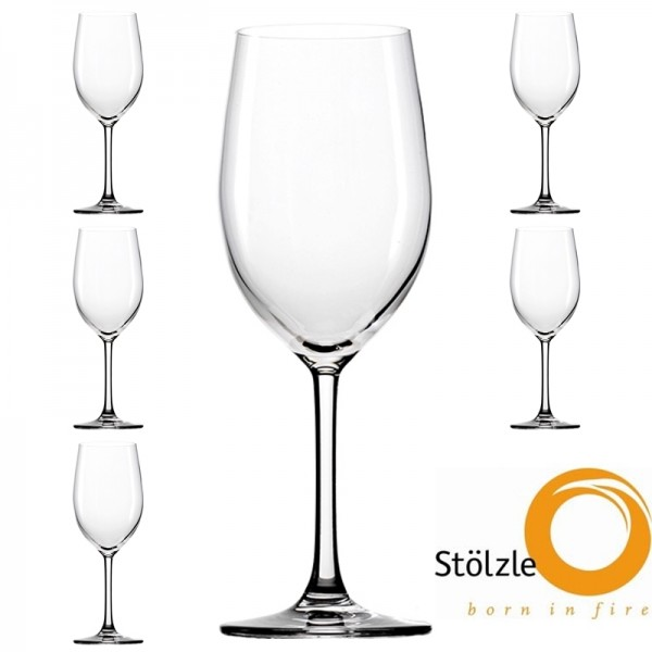 Glas, CLL, 6x Rotweinkelche, Gläser, 448