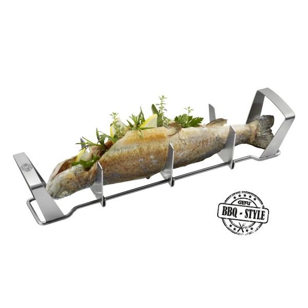 Support pour poisson pour barbecue GEFU