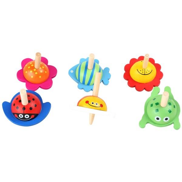 6Stk Spielzeug Holzhurlis,von small foot