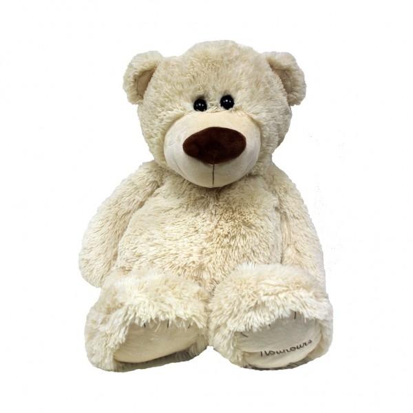 Plüschbär, Teddybär Beige 80cm gross
