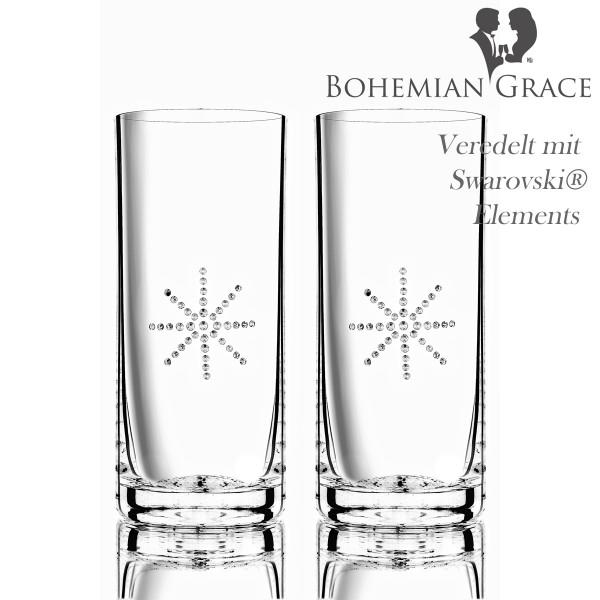 Trinkglas, 2 Gläser Bohemian Grace STR