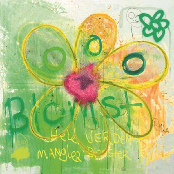 PAVA more flowers-green Servietten 20S