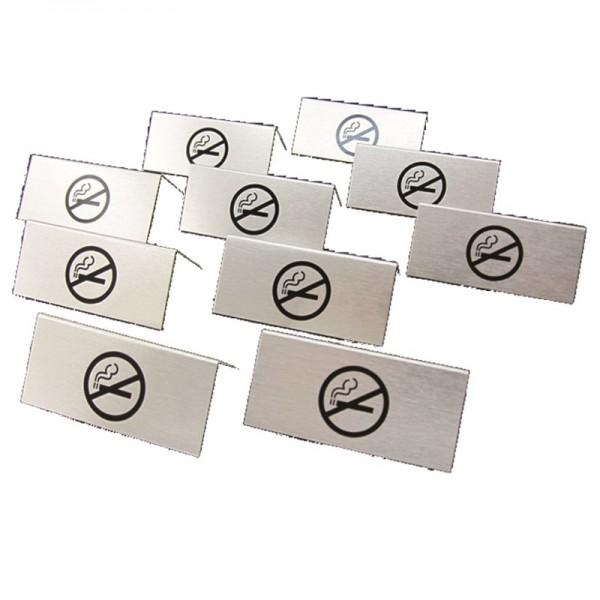 Chevalet de table, non-fumeurs, lot 10pc