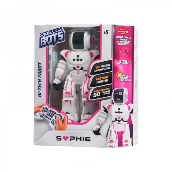 Robot Sophie I/R - XTREM BOTS