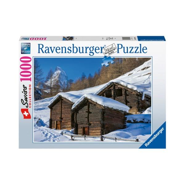Ravensburger Puzzle 1000 Zermatt Winter