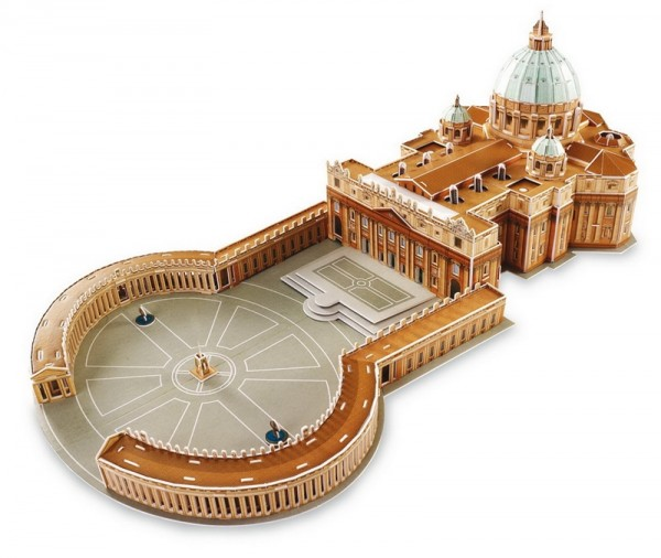 3D-Puzzle St. Petersdom Rom