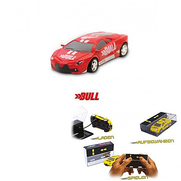 Pocket Racer BULL RC Spielfahrzeug Rot