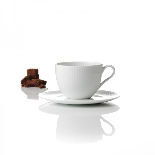 relief 4pc tasses à café, soucoupe 20cl