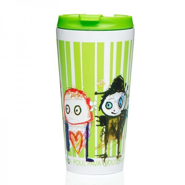 PAVA To Go, thermo mug 45cl, grün