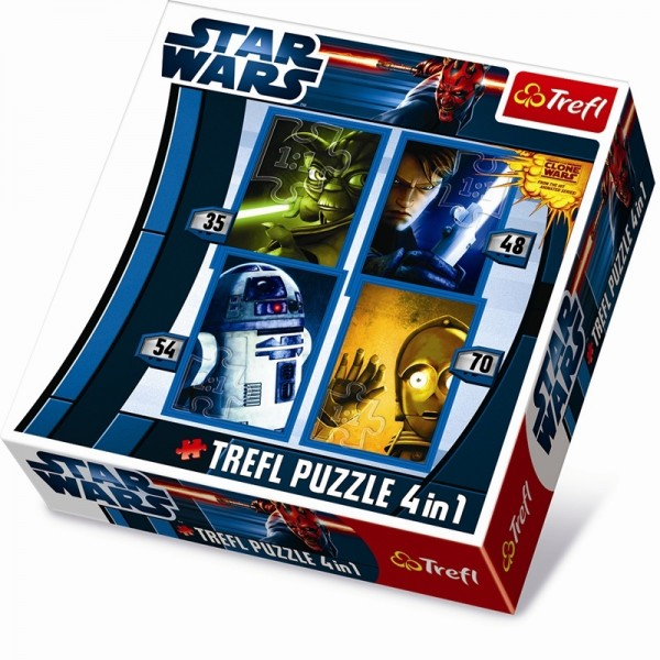 Puzzle 4in1, Star Wars -4in1-