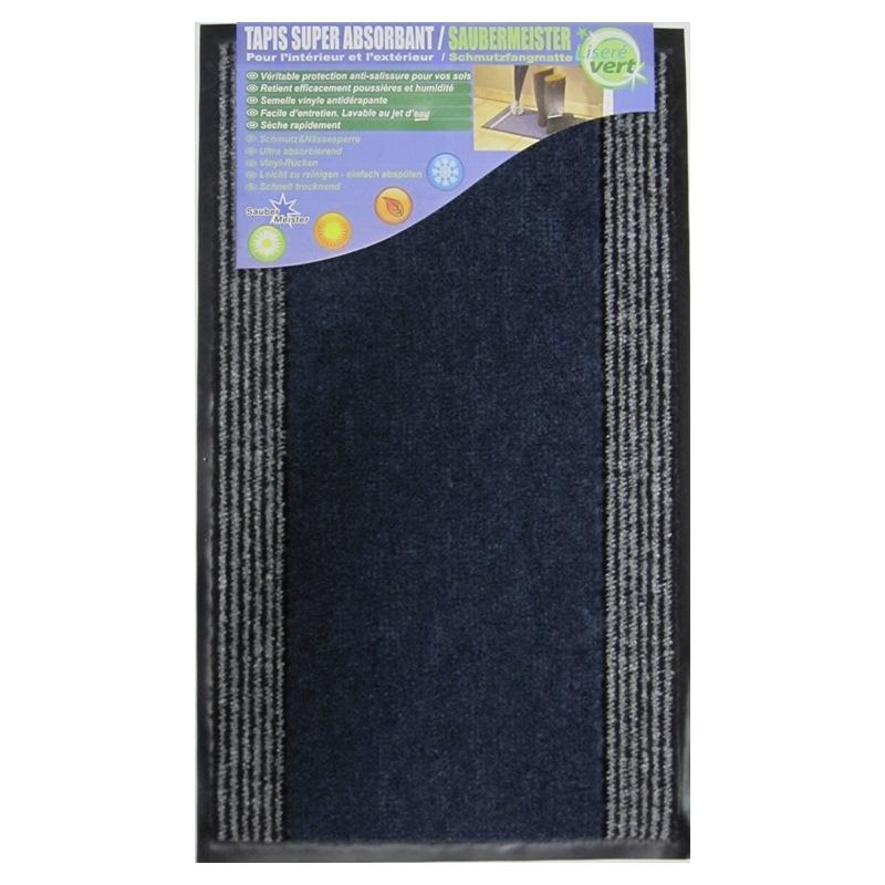 Türvorlage blau, SAUBERMEISTER Türvorleger Gummimatte 40x68, Türvorleger von Saubermeister, blau