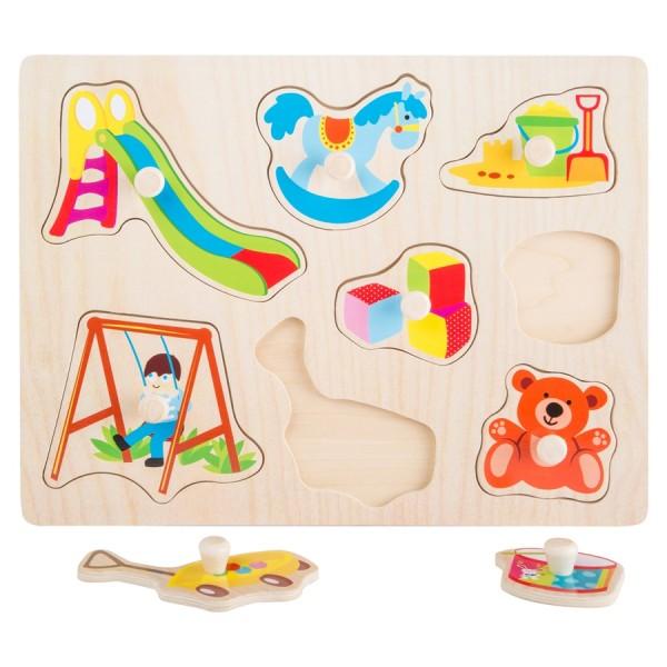 Setzpuzzle Spielzeug Small Foot Design