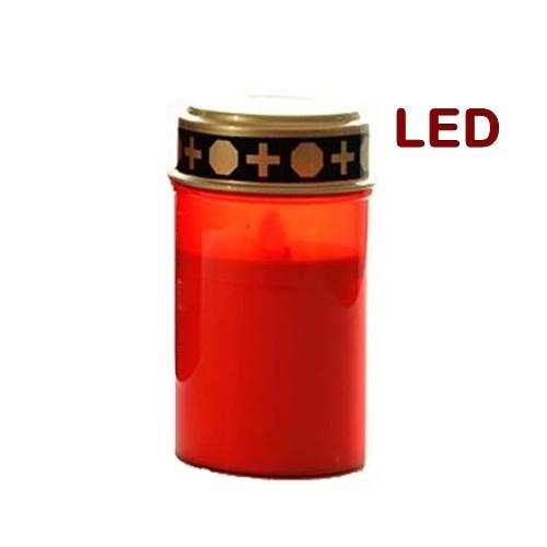 Lampe de cimetière LED pour tombes, 200h