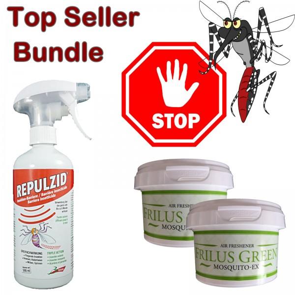 Mosquito Ex 2 boites et Repulzid 500ml
