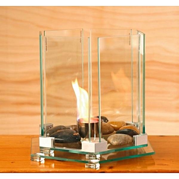 Tisch-Kamin, Tischkamin Design HHL (Bio-Ethanol), Tisch-Kamin, Tischkamin Design HHL