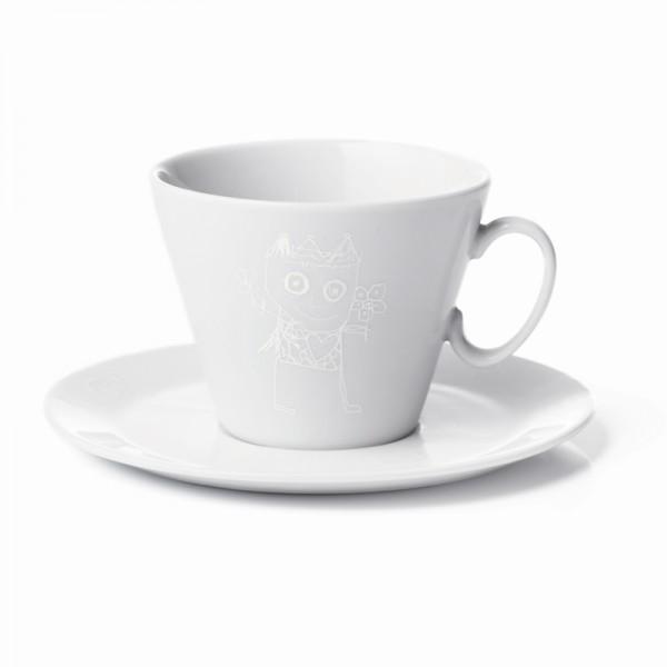 PAVA pure friends Kaffeetasse m.Ut, 2Stk