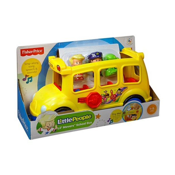 Fisher-Price Schulbus Little People
