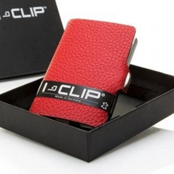I-CLIP® V Classic rot Geldklammer, Etui