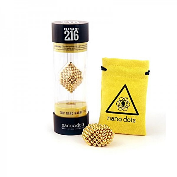 Nano dots Gold Edition 216Stk. Kugeln