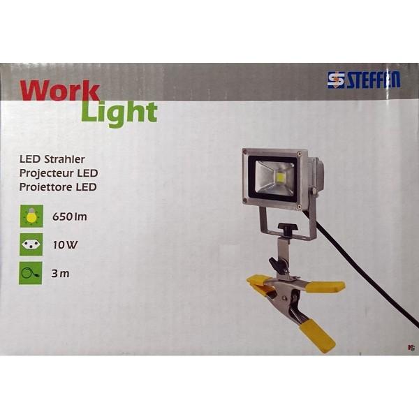STEFFEN Scheinwerfer LED Arbeitslicht 10