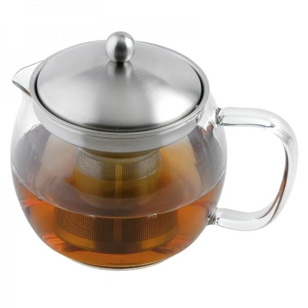 Teekrug WEIS mit Filter-Einsatz, 1.0L