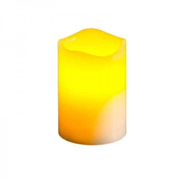 Chandelle à LED, scintillante, 10x15cm