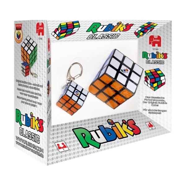 RubiksCube 3x3 Set mit Schlüsselanhänger