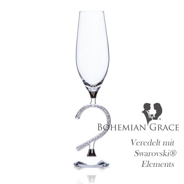 Sektglas AFRODITE Heart BohemianGrace