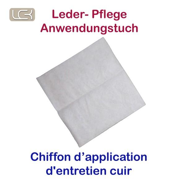 Tuch für Lederpflege (1 Stk. 1/4 Tuch)